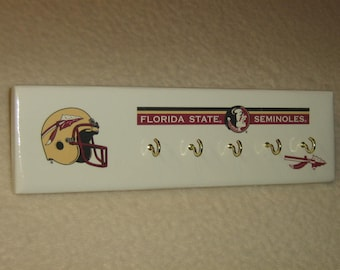 Florida State Seminole's key rack