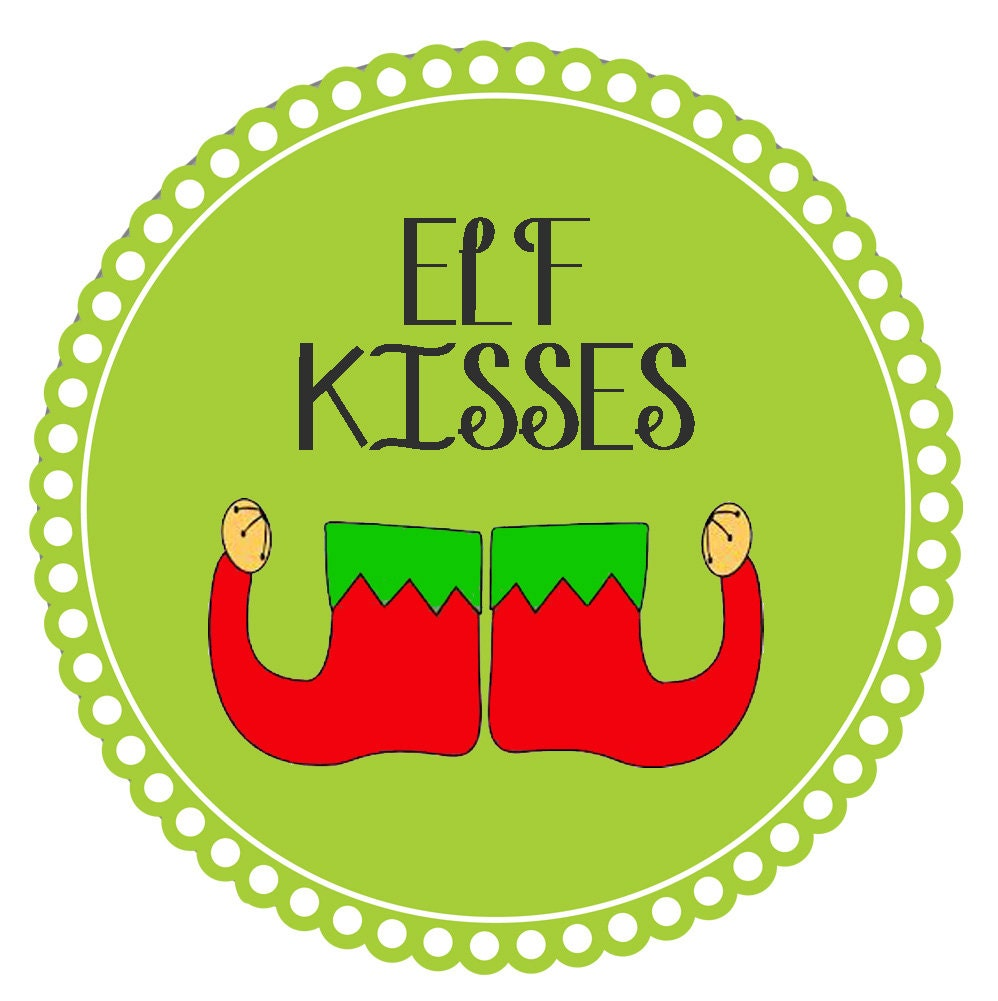 Challenger image pertaining to elf kisses printable