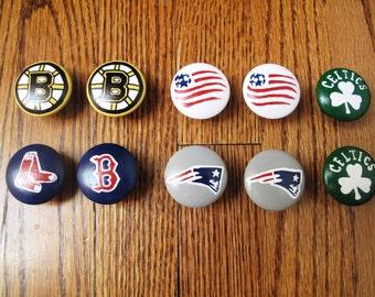 Customized Boston Teams  Dresser Knobs