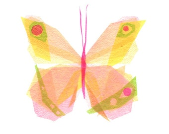 Julia Butterfly - Insect Art Print