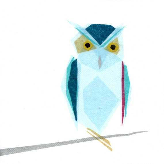 Omar Owl - Animal Art Print