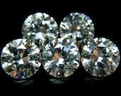 10mm Round CZ AA White Cubic Zirconia Loose Stones Lot