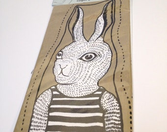 White Rabbit - Hand glove puppet