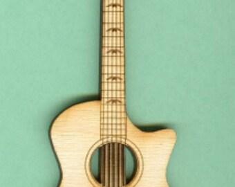 Taylor Guitar (MU-025) - Laser Cut