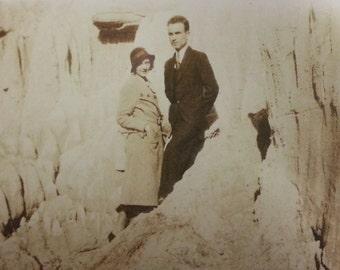 vintage photos . black and white photo . vintage photo . paper ephemera . couples . men and women