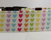 Dog Collar - Dog,  Martingale or Cat Collar - All Sizes- Home Sweet Hearts