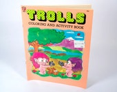 TROLLS Coloring and Activity Book 1992