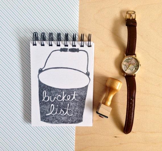 bucket list notebook etsy