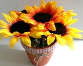 SUNFLOWER PEN ARRANGMENT