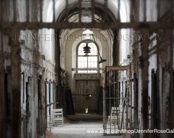 Eastern State Penitentiary, Philadelphia Abandoned Photo Print Original Art 8x12