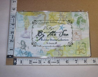 Rubber Stamp - Tweety Jill - By the Sea Collection