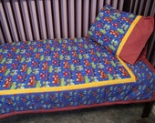 Cars trucks quilt vehicles print toddler bedding cars nursery bedding toddler quilt baby quilt