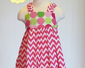 Zoe Ruffle Shoulder Dress Sewing Pattern- INSTANT DOWNLOAD PDF Pattern and Tutorial- Childrens Dress Sewing Patterns- Sizes 6-12m through 12