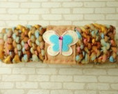 Butterfly Knitted Headband