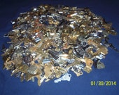 Large Lot of Clean Misc. Brass Keys - 14lbs. Schlage, Master, Yale.etc.House,Car, Steampunk Bulk Craft