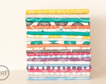 Fat Quarter Bundle Mormor Full Collection, 23 Pieces, Lotta Jansdotter, Windham Fabrics, 100% Cotton Fabric