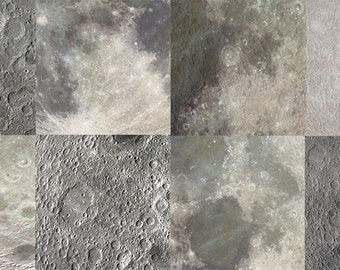 moon digital papers, moon surface backgrounds, moon texture, moon surface digital papers, moon surface, set of 8