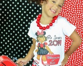 tshirt, tank or one piece Childrens tshirt ORIGINAL ....Disneyland or Bust Ooak by Cotton Laundry Personalized with your childs name