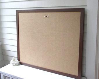 Damask Bulletin Board Framed Magnetic Memo Board Deluxe