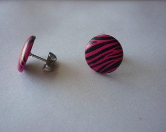 Pink Zebra Print Posts