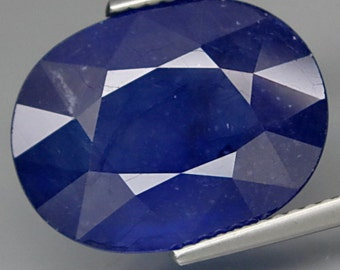 Natural Midnight Blue Sapphire - 1 Piece (204)