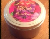 Gardenia Scented Soy Wax Candle - 8oz Tin Scented Candle