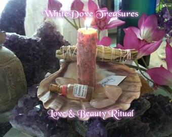 Love Beauty Spell Altar Blessing Attract Soul Mate Magnet Meditation Manifest Passion Romance Rejuvenate Strengthen Self Full Guide Tool Kit