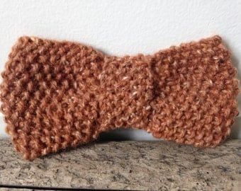 PATTERN for Tweedy Clip-On Bow Tie in 3 Sizes