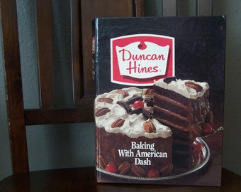 Vintage Duncan Hines Baking With American Dash