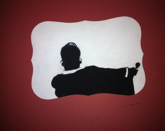 The Simpsons Mad Men Wall Art