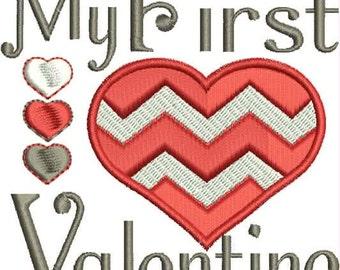 Chevron 1st valentine