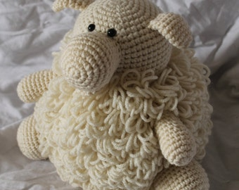 Sherman the Sheep - Amigurumi Plush Crochet PATTERN ONLY (PDF)
