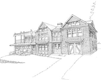 Architectural Rendering, 3D drawing for Architects