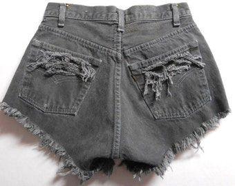 Levis High Waisted Shorts Waist 26 inches