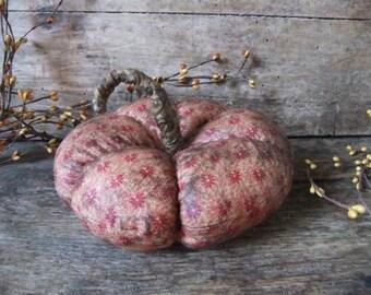 Primitive Pumpkin Bowl Filler Fall Decoration