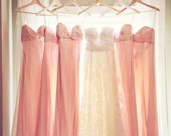 Mrs Hangar, natural wood wedding hanger, calligraphy wedding date, bridal wire hangar, custom wedding dress hangar, bride robe hanger, bride