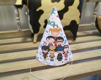 Superhero Party Hats Set of 12