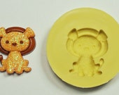 Lion  A137 - Flexible Silicone Mold - Crafts, Jewelry, Resin, PMC, Soap, Food, Scrapbooking, Polymer Clay, Push Mold