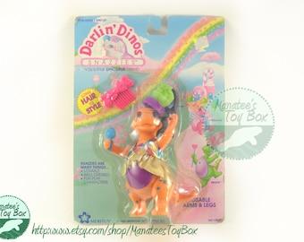 MOC Darling Dino Bronte Orange Unopened 1990s Toy