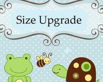 Size Upgrade Option