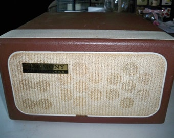 Vintage CBS HARMONY  Suitcase Style Stereo Record Player - Needs Work