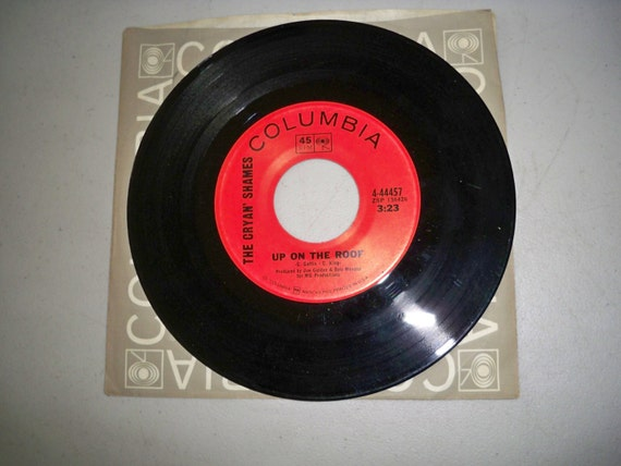 Vintage Rare 1960 S 45 Rpm Record Up On The