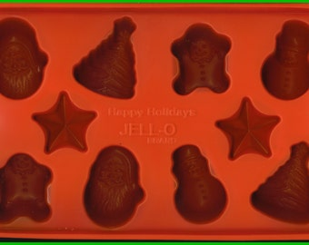 MOLD Candy Soap Chocolate Jello Gelatin Tart Christmas Holiday Ornaments