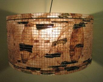 "Chandelier Lighting Large 24"" Lamp Lampshade Lighting Chandelier Hanging Pendant Lampada"