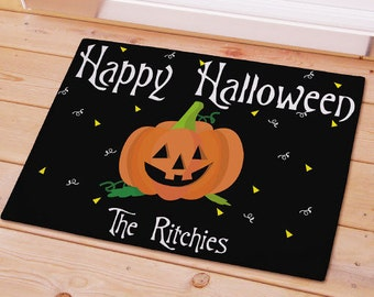Happy Halloween Welcome Doormat -gfy83124867S