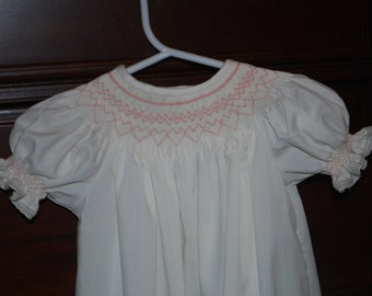 Smocked Baby Daygown