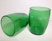 Perrier Recycled Bottle Small Tumbler Glasses - Set of 2