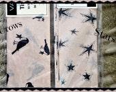 Primitive Black Crow Tissue Paper, Primitive Stars Tissue Paper
