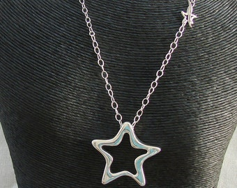 Shining Star Sterling Silver Necklace