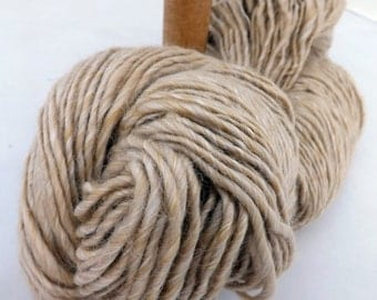 Single ply handspun yarn